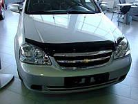 Chevrolet LACETTI Дефлектор капота мухобойка на для CHEVROLET Шевроле LACETTI sedan, wagon 2004-