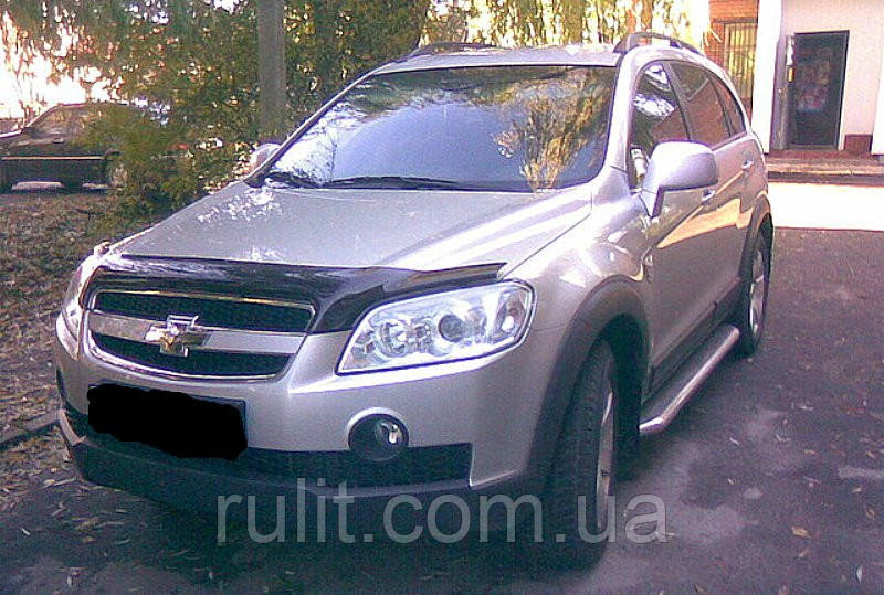 Chevrolet CAPTIVA Дефлектор капота мухобойка для CHEVROLET Шевроле CAPTIVA 2006-2012