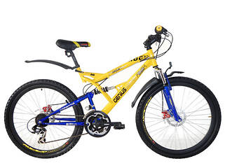 Горные двухподвесные велосипеды