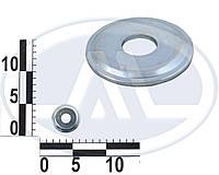 Шайба упорная d14 оси нижнего рычага ВАЗ 2101 наружная (пр-во АвтоВАЗ 21010-2904045-00)