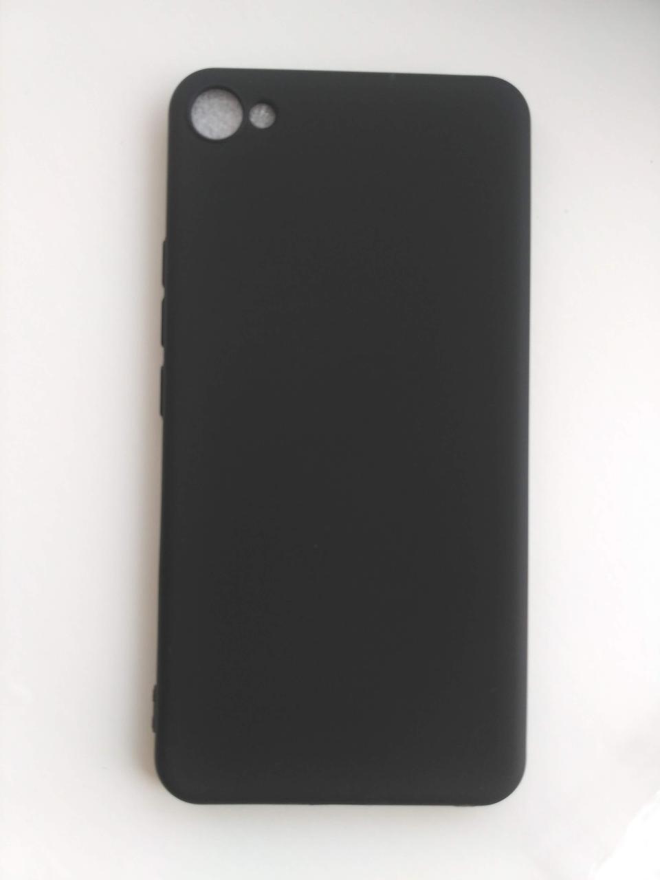 Силиконовый чехол для Meizu U20 черный матовый