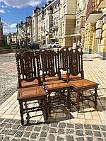 Антикварные стулья комплект 6шт. буфет креденс сервант комод