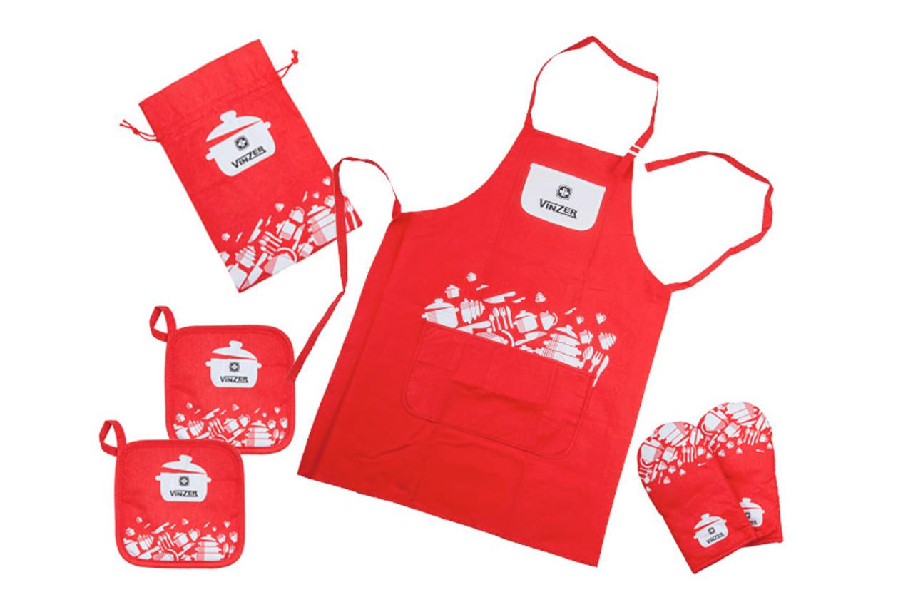 Кухонный текстильный набор Vinzer 89500 (6 предметов)