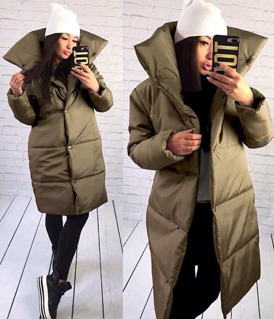 0a657df7fba Купить Пальто женское зимнее с воротником-стойкой (К20737)  ...  в ...
