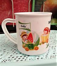 Чашка детская, пластиковая, 250мл, плотный пищевой пластик.
