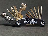 Компактный набор, Мультитул ROCKBROS | Набор многофункциональных инструментов для велипеда 16 в 1, фото 1