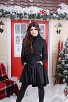 Пальто женское демисезонное с поясом (К20924), фото 1