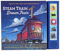 Детская звуковая книга на английском Steam Train, Dream Train