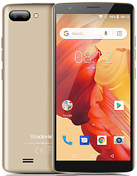 "Blackview A20 Gold 1/8Gb, 5.5"", MT6580M, 3G"