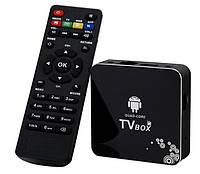 Медиаплеер четырехъядерный Android Smart TV box A30 (HDMI + AV), фото 1