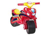 Мотобайк для катания Поліція музич. (червоно-жовтий), арт. 0139/56, Фламинго (Долони)