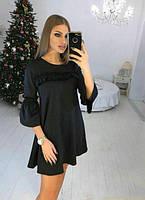 Платье женское короткое свободного кроя (К21208), фото 1