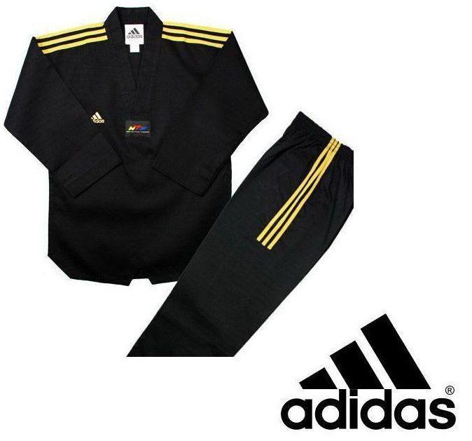 Добок Adidas Champion Color Dobok (Black Gold) JWA 2020