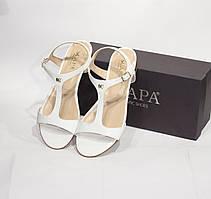 Шикарные кожаные босоножки Scapa, Италия-Оригинал