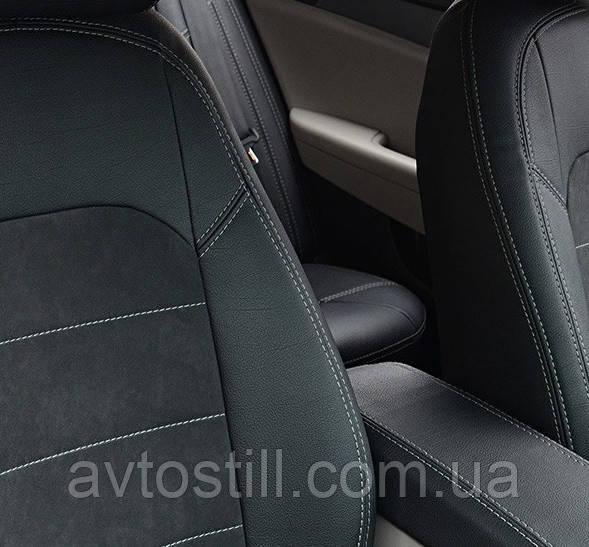 Автомобільні чохли на Hyundai Sonata (LF) (2014-..)
