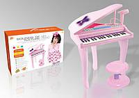 Музыкальный орган 88022A  батарейки ,на ножках,со стульчиком,в коробке