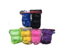 Защита CE-102620  наколенники, налокотники в сетке, 6 цветов