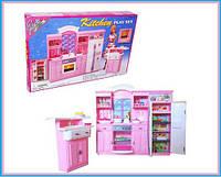 Кухня Gloria 24016  батарейки ,холодильник,газплита,мойка,в коробке 43*30*6 см.