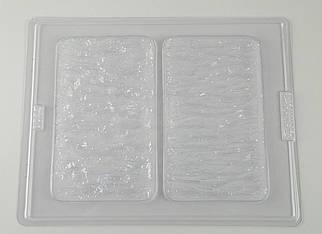 "Пластиковая форма ""Два вида декоративной штукатурки"""