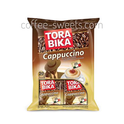 Капучино Tora Bika Cappuccino (20пак) 500г, фото 2