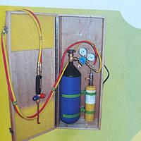 Газосварочный пост, горелка, газосварка СП-5 в кейсе