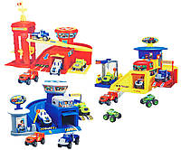 Детская игрушка паркинг для мальчиков 828-61/62/63  3 вида, в коробке 31,5*7*23 см.