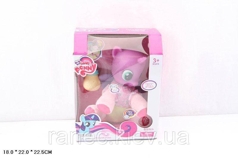 Музыкальная игрушка детская Игрушка пони 66231/34 батарейки , музыкальная игрушка детская , с акссесуарами, в коробке 18*22*22,5 см.
