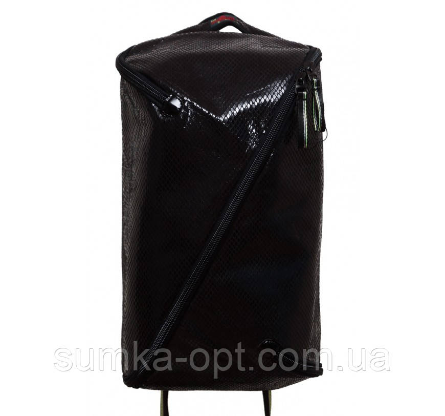 Универсальные рюкзаки для учебы взрослый-подросток (черный эко кожа)45*28