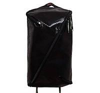 Универсальные рюкзаки для учебы взрослый-подросток (черный эко кожа)45*28, фото 1