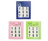 Пятнашки Классические 017  3 цвета,   в пакете 9*7,5*0,5  см.