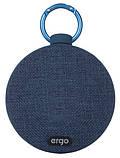 Портативная акустика Ergo BTS-710 Blue, фото 2