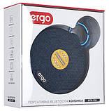 Портативная акустика Ergo BTS-710 Blue, фото 7