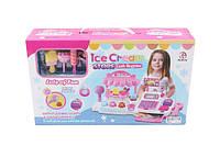 Кассовый аппарат детский Ice cream 5930  батар, свет- звук,   калькул, в коробке  40*24*10 см.