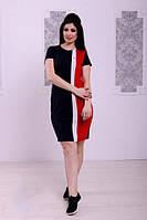 Платье женское короткое в спортивном стиле (К22037), фото 1