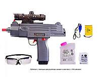 Автомат игрушечное оружие  аккумулятор  с вод.снарядами FU6801  аксесс., в коробке 41*34*6 см.