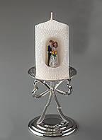 Свадебная свеча Жених и невеста 10 см 016Q