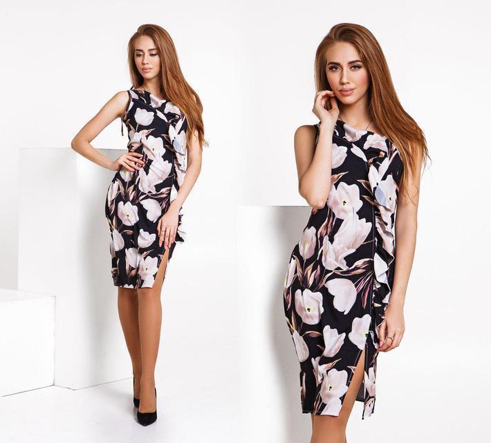 Платье женское летнее без рукавов (К22148)