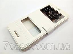 Чехол книжка с окошками momax для HTC Desire 728 dual sim / 728 Ultra белый