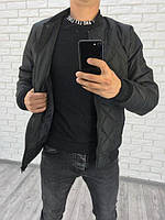 Демисезонная мужская куртка бомбер (К22326), фото 1