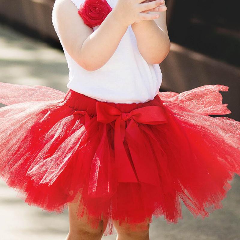 """Юбка детская """"Одуванчик"""" фатиновая пышная красная. Пошив в любом размере и цвете"""