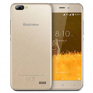 Blackview A7 1/8Gb Gold Гарантия 1 Год!