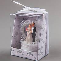 Фигурка на торт Жених и невеста 8 см 041Q