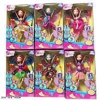 Кукла 636 6 видов микс , в кор 29,5*18,5*4,5 см.