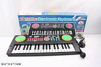 Музыкальный синтезатор детский орган TX988USB сеть микрофон