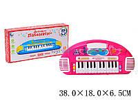 Музыкальный синтезатор детский орган NK732 (T242-D1752)   батарейки ,в коробке  38*18*6,5 см.