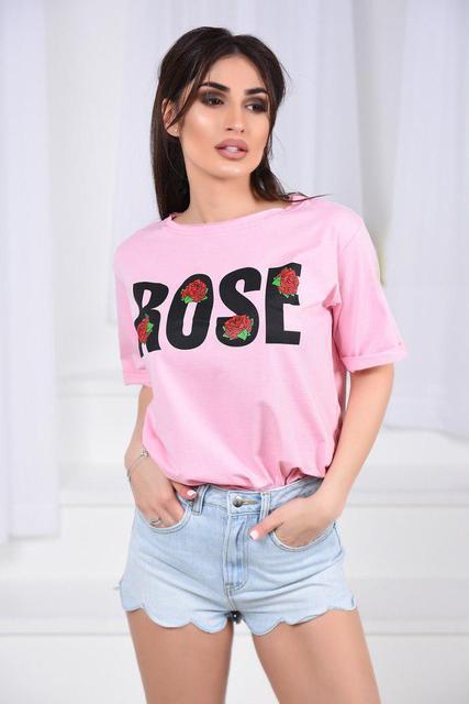 Футболка женская «Розы» (К22649)