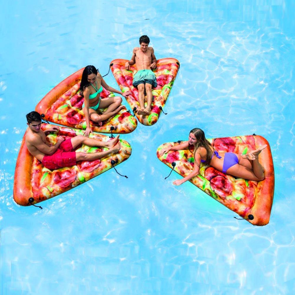 Надувной матрас для плавания Intex 58752 (175х145 см.) Матрас для плавания Пицца.