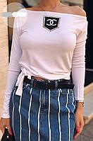 Кофточка женская Шанель копия с камнями, фото 1