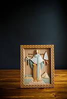 Икона Николая Чудотворца / Резная икона/ деревянная икона