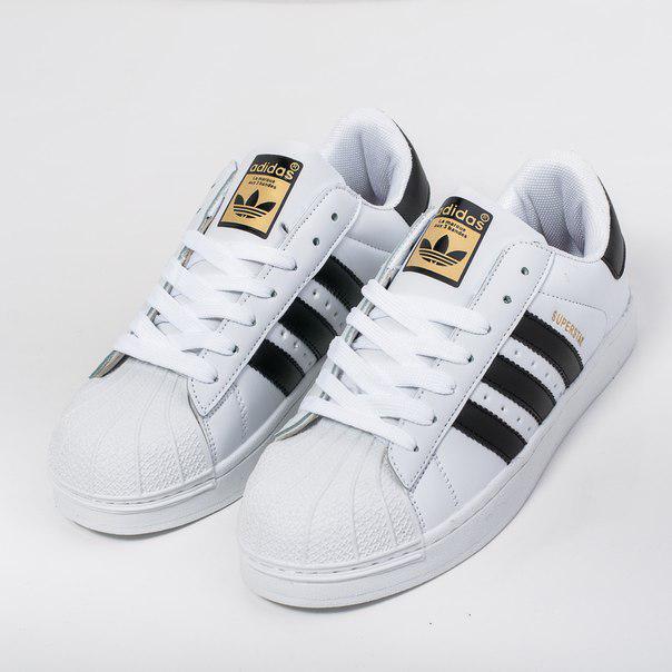 Мужские кроссовки Adidas Superstar (Реплика) - KAIF-SHOP в Киевской области 784aeeb347d21